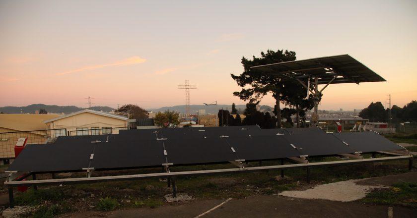 Con la fuerza del sol: Contribución energética de la MicroRed UCSC