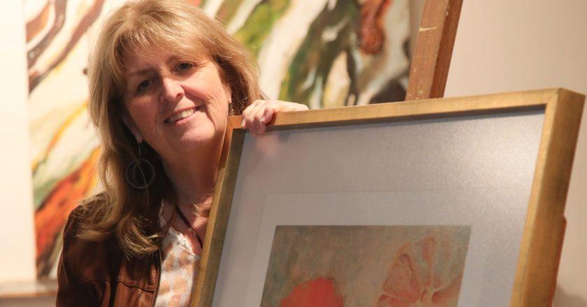 "Claudia Sierralta Correa, pintora y escultora: ""Nací rodeada de arte"""