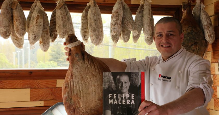 """Felipe Macera Alvarado, chef: """"Busco que podamos comer bien y conozcamos nuestros productos"""""""